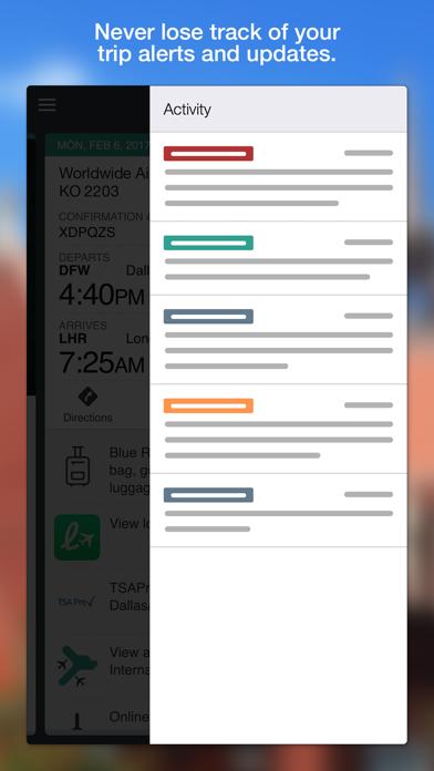 TripCase Screenshot