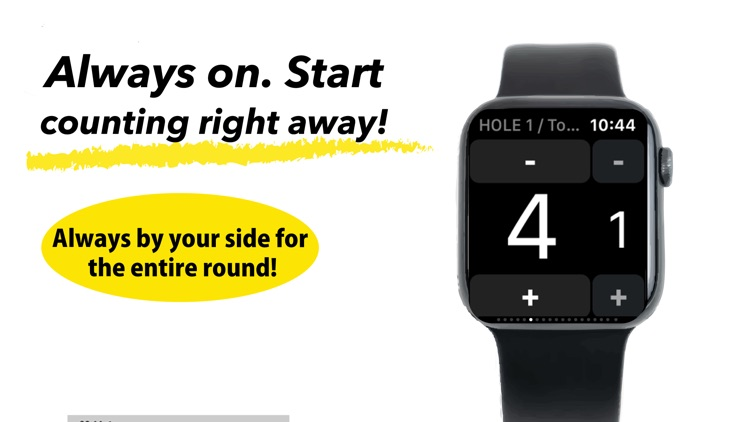 golf score counter with watch screenshot-4