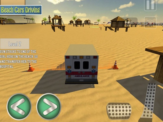 Holiday Beach:Driving Car Pro screenshot 6
