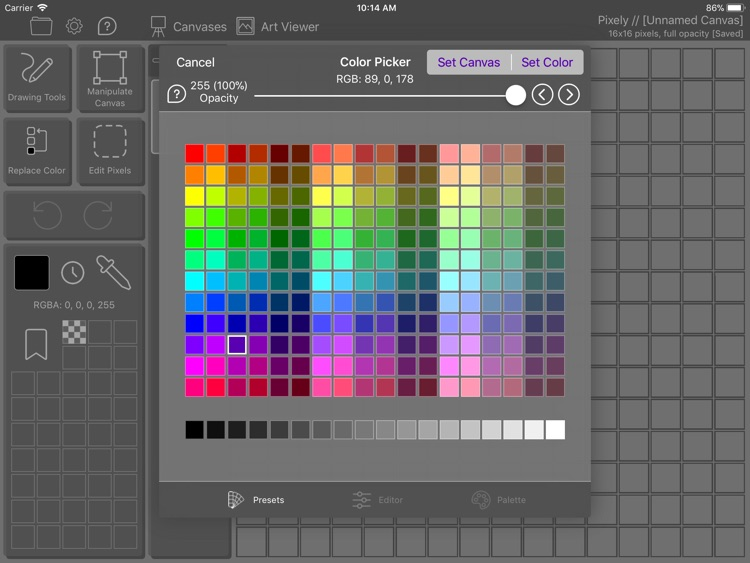 Pixely: Pixel Art for Everyone screenshot-3