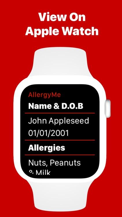 AllergyMe - Allergy Medical ID screenshot-3