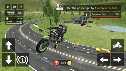 Flying Motorbike Simulatorのおすすめ画像5