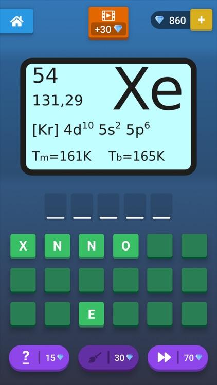 Learn the Chemical Elements screenshot-4