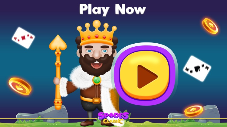 Spades Classic Online screenshot-9