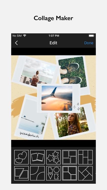 InFrame - Photo editor collage screenshot-6
