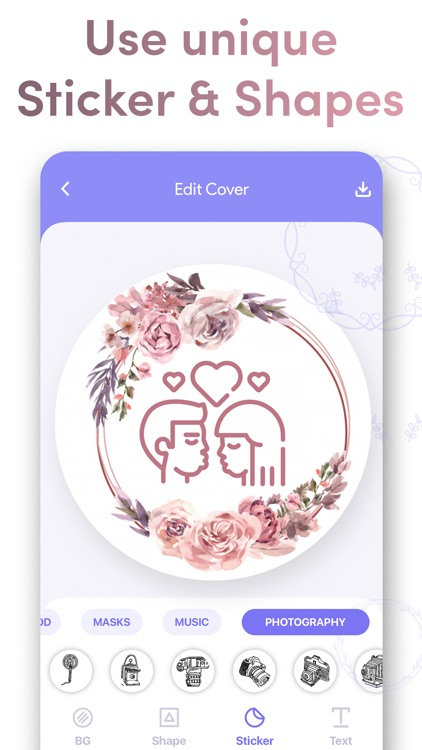 Cover Highlights + logo maker screenshot-5