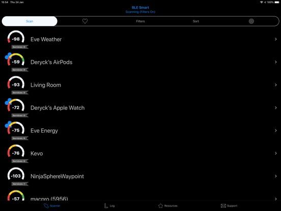 BLE Smart - Bluetooth Scanner Screenshots