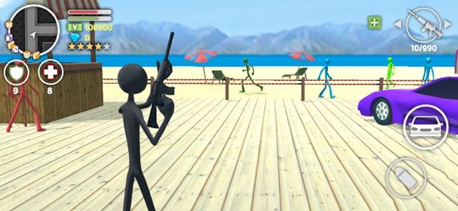 stickman games wars