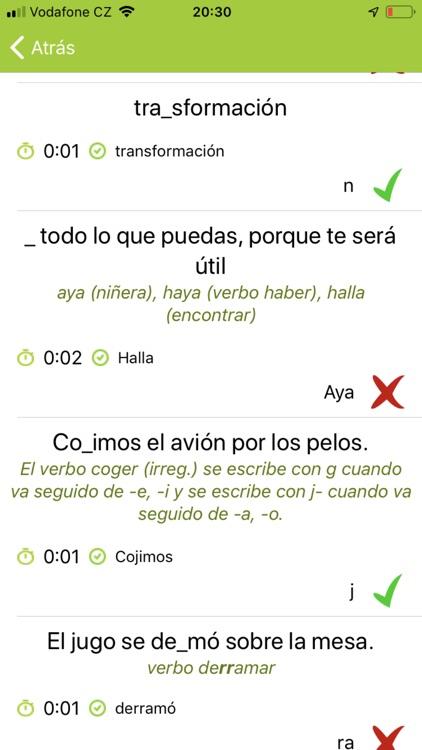 Ortografía Española screenshot-3