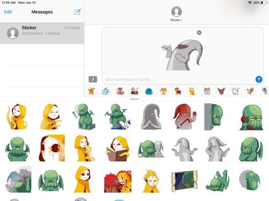 Alien Cute Pun Funny Stickers screenshot 5