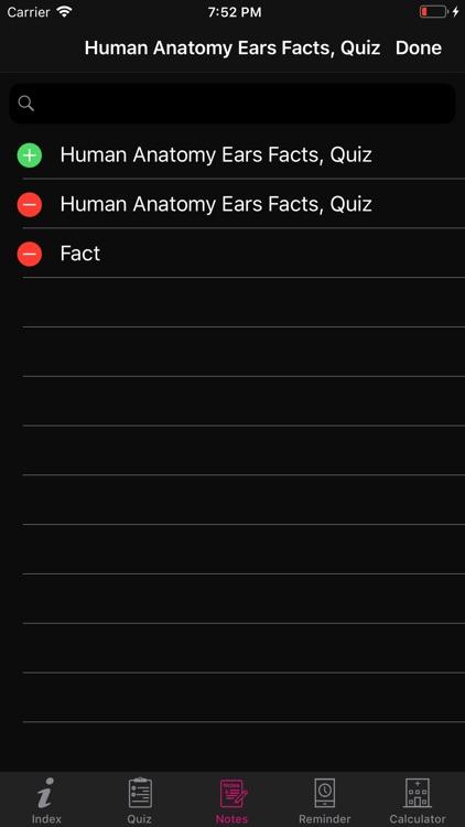 Human Anatomy Ears Facts, Quiz screenshot-6