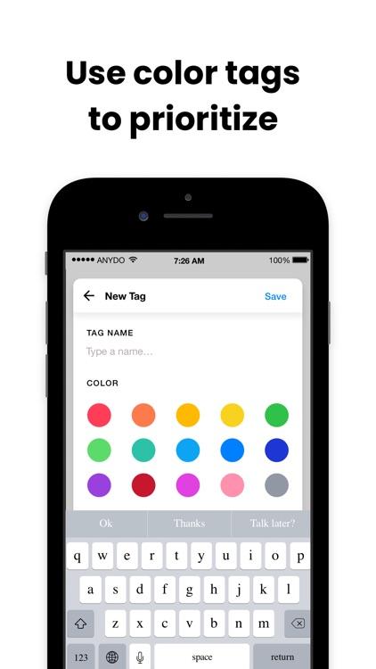Any.do: To do list & Calendar screenshot-6