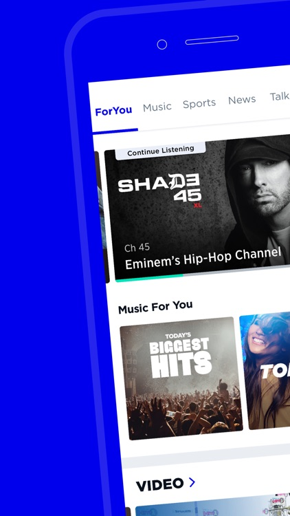 SiriusXM-Music, Comedy, Sports
