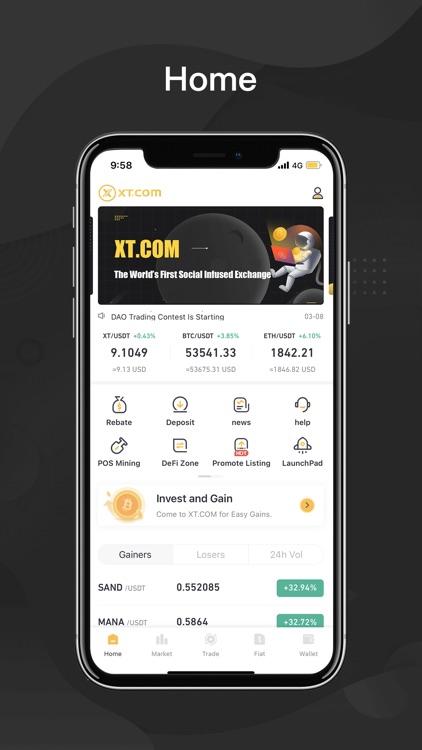 XT.COM - Buy & sell Bitcoin