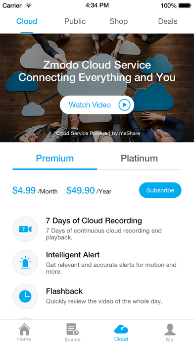 Zmodo - Revenue & Download estimates - Apple App Store - US