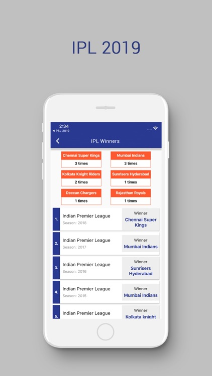 IPL 2019 Score and Schedule screenshot-4