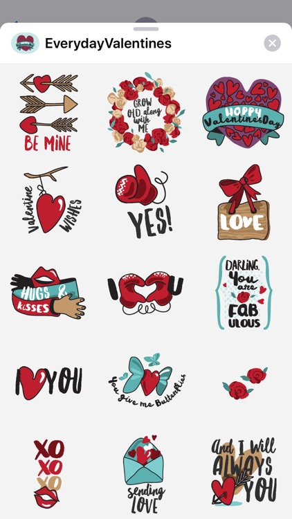Everyday Valentines