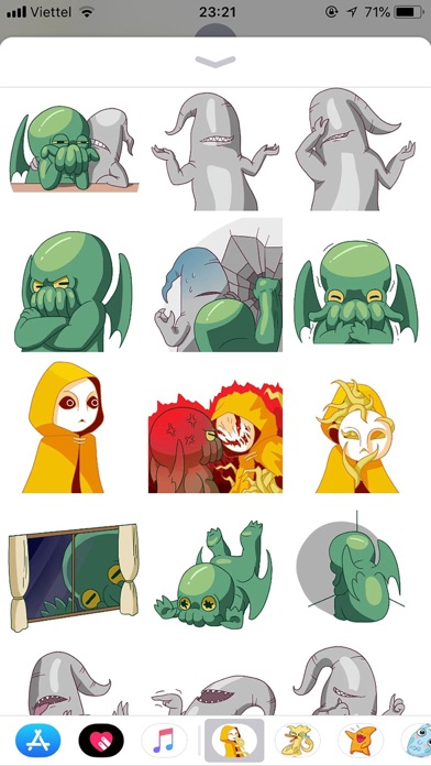Alien Cute Pun Funny Stickers screenshot 2