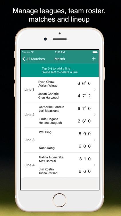 TennisKeeper: Swings & Scores screenshot-9