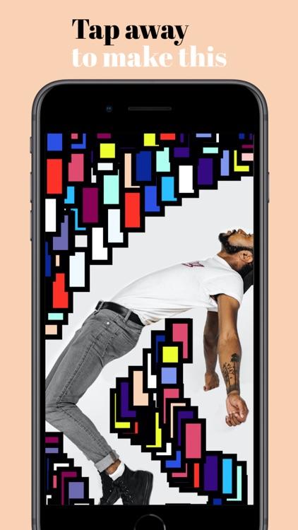 makeArt: art at tap speed screenshot-0