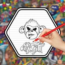 How to Draw Graffiti 3D Art