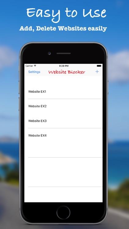 website blocker - porn blocker screenshot-3