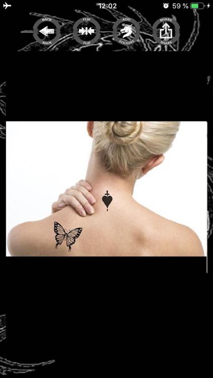 Tattoo stickers photo editor