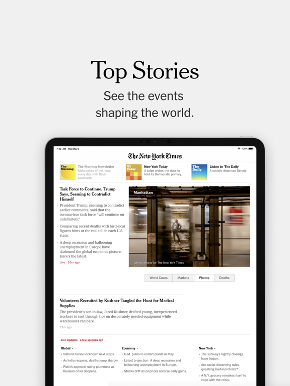 The New York Times iPad