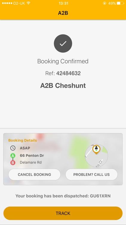 A2B Taxis screenshot-3
