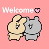 Cute Couple Stickers Pack