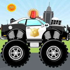 jeux de voiture de police!