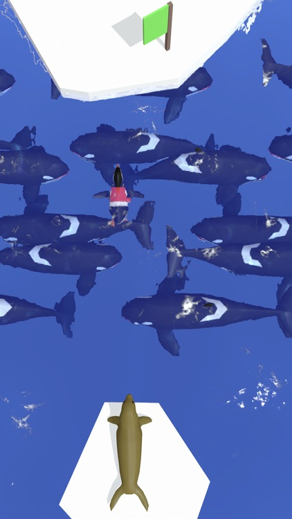 Penguin Champion - Ice Escape screenshot-4