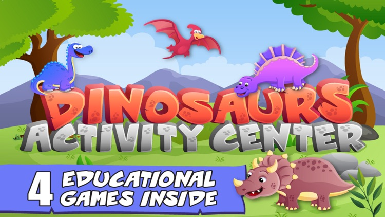 Dinosaurs For Kids Fun Games screenshot-3