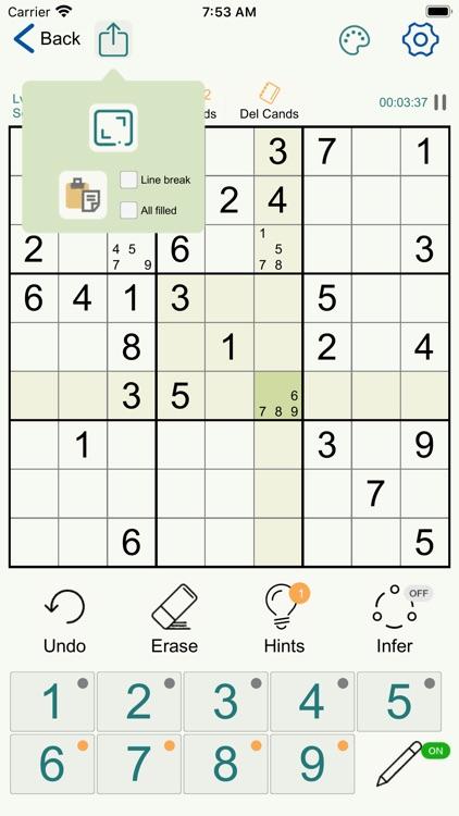 Sudoku - Logic Number Puzzles screenshot-9
