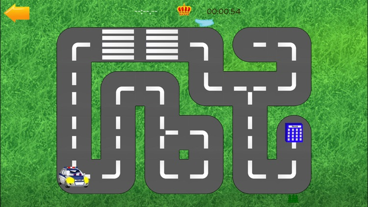 Cars Road Labyrinth Kids Game screenshot-2