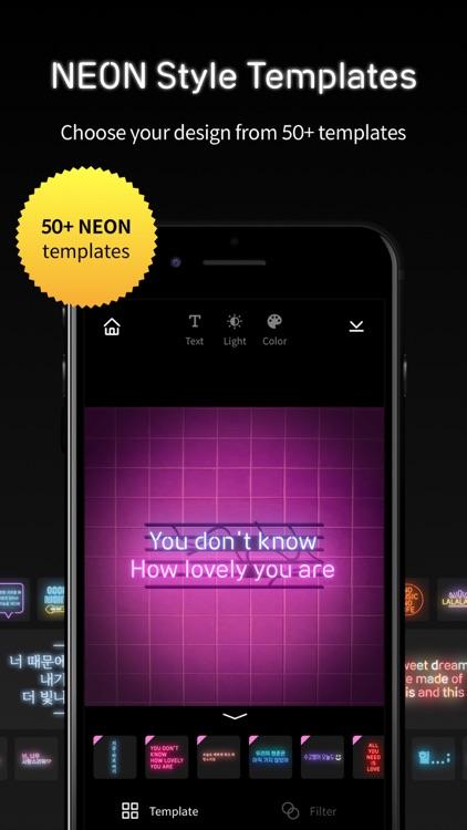 NEON VIDEO MAKER screenshot-6