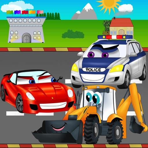 Cars Road Race Kids Game
