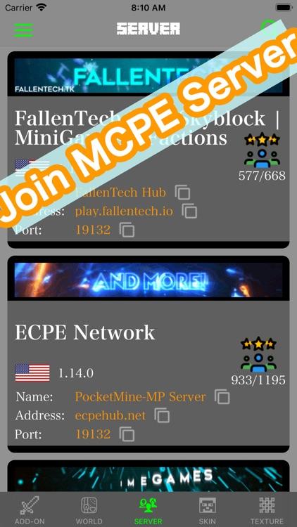 Addons for Minecraft PE & MCPE screenshot-3