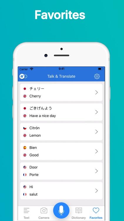 Talk & Translate Translator screenshot-6