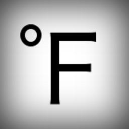 Fahrenheit Thermometer Plus