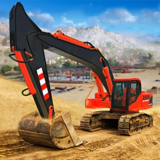 Construction Excavator Game 3d