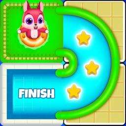 Chipmunk escape - slide puzzle