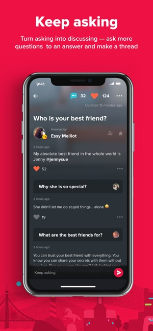 What woman want not question app