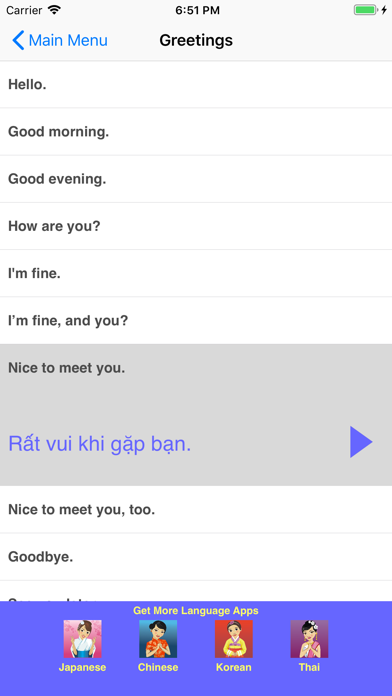 Speak Vietnamese Phrasebookのおすすめ画像2
