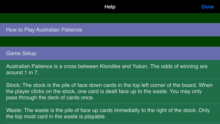 Australian Patience screenshot-9