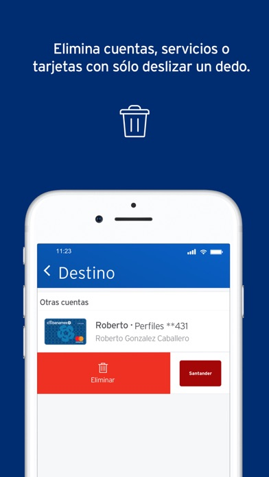 Screenshot for Citibanamex Móvil in Mexico App Store
