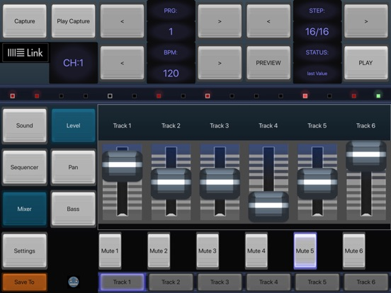 6X806 Drum Synth Machine screenshot 6