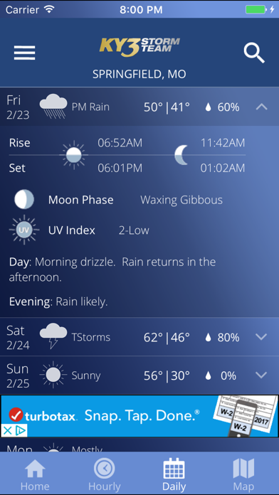 Ky3 Weather review screenshots