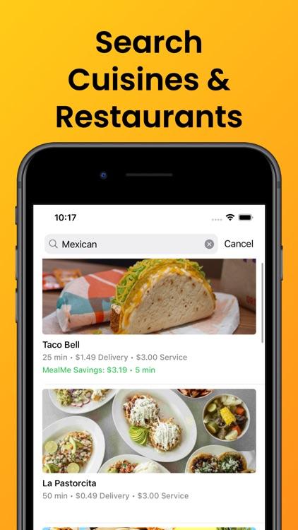 MealMe: The Cheapest Food App screenshot-9