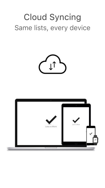MinimaList - To Do List Tasks screenshot-9